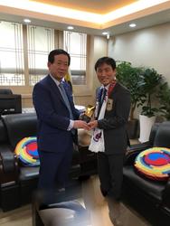 GrandMaster SH Yu Kukkiwon International Advisory Board Appoitment