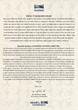 Kukkiwon International Advisory Board Appoitment - letter from the Kukkiwon president