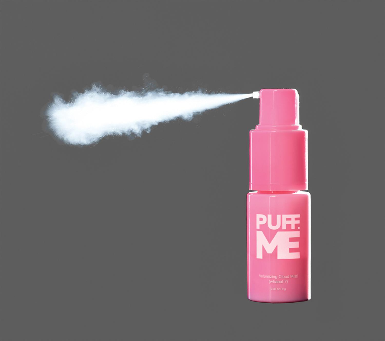 Puff Me First Ever Volumizing Cloud Mist Gives Bombshell