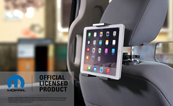 Adjustable iPad Holder with Headrest Mount