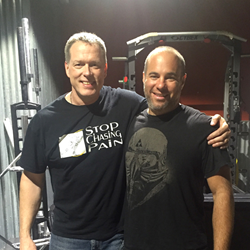 Chiropractor Dr. Steven Shoshany with Dr. Perry Nickelston