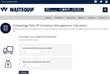 Wastequip Unveils Compology Roll-off Container Management Calculator