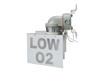Non-Metallic, Corrosion Resistant Oxygen Level Warning Light
