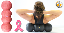 Pink Ribbon Foam Roller