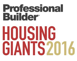 Professional Builder Housing Giants 2016