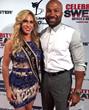Carla Gonzalez, Ms. North America Universe 2016 attended the Celebrity Sweat ESPY's VIP After Party where she was pictured on the red carpet with Derek Fisher, a five-time NBA Champion