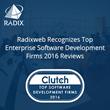 Radixweb Recognizes as Top Enterprise Software Development Firms 2016