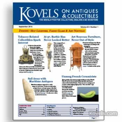 kovels, antiques, collectibles, barbie, tobacco, art nouveau,