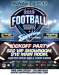 Sapphire, The World's Largest Gentlemen's Club Kicks Off  Their Annual Monday Night Football® Party on Monday, September 12, 2016 with OPEN BAR from 4pm to 8pm.