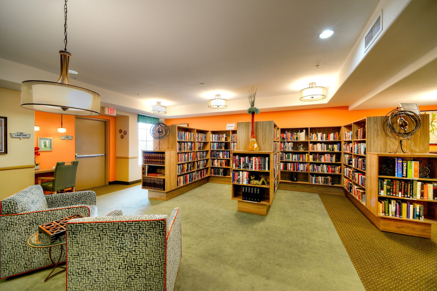 Community Libraries Help Residents Transition To Senior Living Communities By Allowing Keep And Share Their Favorite Books