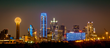 National Ovarian Cancer Coalition and Be The Difference Foundation Light the Dallas Skyline Teal for Ovarian Cancer Awareness