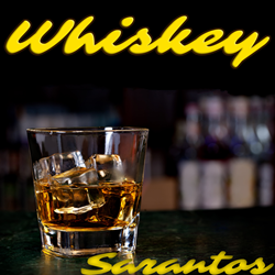 Sarantos song artwork Whiskey solo music artist Voice of Chicago new pop rock free release Alcoholics Anonymous Charity