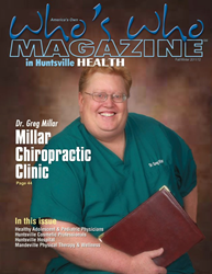 Picture of Dr Millar on cover of Who's Who