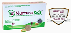 Nurture Kids is a high concentrate DHA Supplement for Children 8 years plus