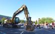 Extraordinary excavator breaks ground.