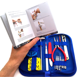 EZTool Watch Repair Kit & Illustrated Manual