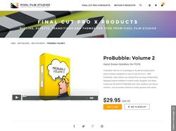 FCPX Plugin - ProBubble Volume 2 - Pixel Film Studios
