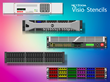 NetZoom™ Visio® Stencils Library Updated for Data Center and Network Devices from Panduit, F5 Networks, IBM, Emerson, Bosch and More Manufacturers