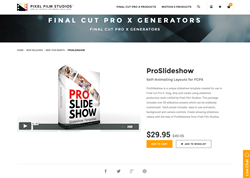 ProSlideshow - FCPX Plugin - Pixel Film Studios