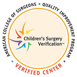 American College of Surgeons verified center logo