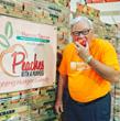 Harris Teeter, Titan Farms Donate 36,000 Pounds of Peaches to Local Food Banks