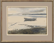 """Andrew Newell Wyeth's """"River Greys"""" Realized $66,953."""
