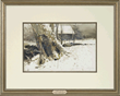 """Andrew Newell Wyeth's """"By The Lower Dam, 1967"""" Realized $79,988."""