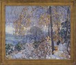 "Edward Willis Redfield's ""River Decorations"" Realized $148,125."