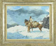 "Howard A. Terpning's ""Spring Came Early"" Realized $94,800."