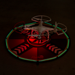 "32"" FlatHat Collapsible Drone Pad with LIghting Kit"