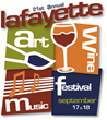 Lafayette Art + Wine Festival 2016 - Logo