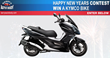 Like motorcycles - enter Barry's Auto Body Kymco Bike Giveaway