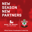 Banc De Binary is Proud to Announce a New Global Partnership with Southampton Football Club