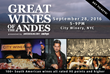 JamesSuckling.com and Zachys Present: Great Wines of the Andes NYC Wine Tasting Event