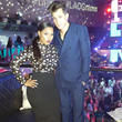"Aunyae Heart and Mark Ronson, Grammy Winner record of the year ""Uptown Funk""  Bruno Mars  - LA Confidential Magazine Grammy Week  2016 Party"