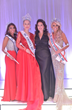Ms. International 2017Nova Kopp, Ms. America 2017 Oksana Vovk, Ms. America® Pageant CEO Susan Jeske and Ms. America International Tracy Lynn Rodgers
