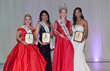 Jessica Mason, 1st runner up, Dreamy Patel 3rd Runner up, Ms. America® 2017  Oksana Vovk  and Lereca Monik 2nd Runner up