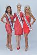 Ms. International 2017 Nova Kopp, Ms. America® 2017  Oksana Vovk and Ms. America International Tracy Lynn Rodgers