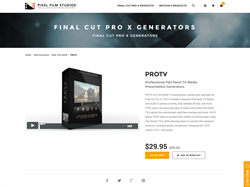FCPX Plugin - ProTv - Pixel Film Studios