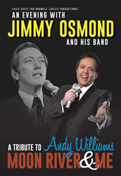 Jimmy Osmond performs Moon River & Me tribute to Andy Williams