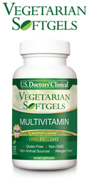 Vegan MultiVitamin Softgel Dietary Supplement