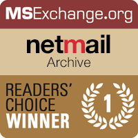 Netmail Archive Voted Best Email Archiving Tool
