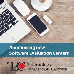 TEC announces new Software Evaluation Centers