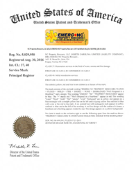 EMERG+NC Property Rescuers Registered Trademark