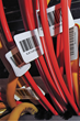 Polyonics flame retardant wire markers