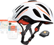 Smart cycling helmet connects riders to music, calls, navigation, and ride data for ultimate safe cycling experience without ear buds