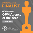 """OPM Pros Nominated for the """"2016 CJ You Agency of the Year"""" Award by CJ Affiliate"""