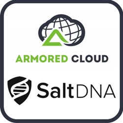 Armored Cloud and SaltDNA Logos