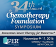Physicians' Education Resource®, LLC,  Unveils Detailed Conference Agenda for the 2016 Chemotherapy Foundation Symposium: Innovative Cancer Therapy for Tomorrow® Meeting