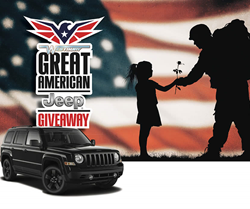 Westbury Jeep Great American Jeep Giveaway